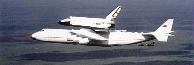 с «Бураном» в первом совместном полете, май 1989 г.
