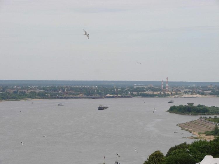 Волга в Нижнем Новогороде