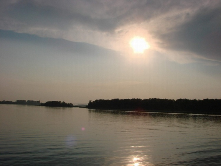 Волга в районе Саратова