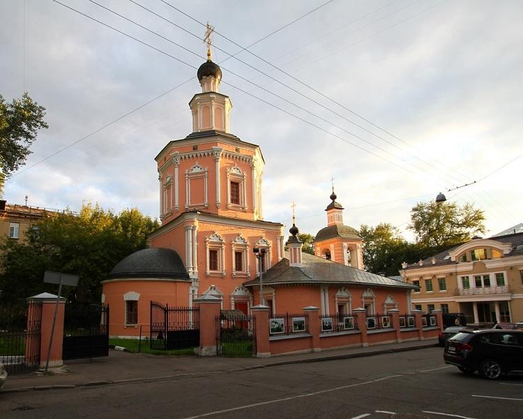 Церковь Троицы в Хохлах