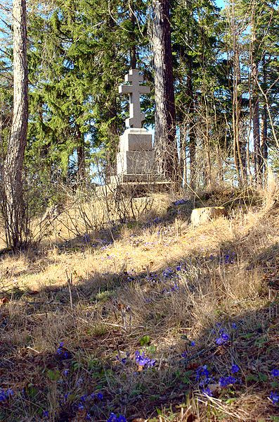 Крест преподобного Александра Свирского. Валаам