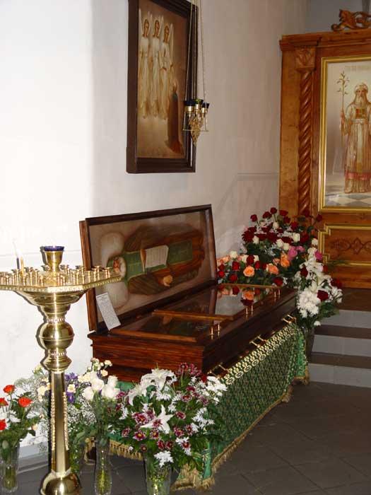 Святые мощи преподобного Александра Свирского чудотворца