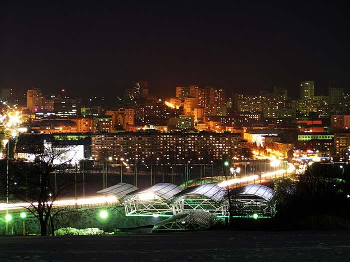 Вид на Белгород со стороны Харьковской горы