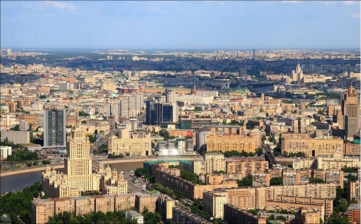 Новый Арбат и Кутузовский проспект, гостиница Украина