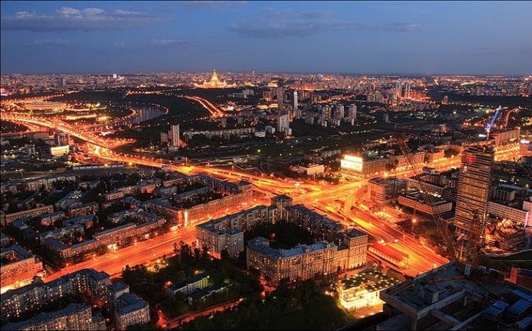 Развязка ТТК и Кутузовского проспекта