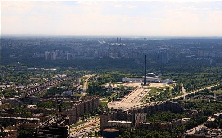 Станция Москва-Сортировочная, Парк Победы