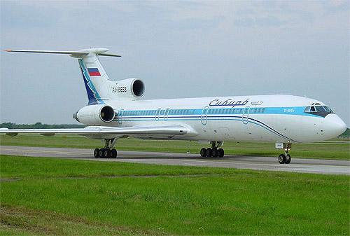 Самолёт Ту-154, б.н. Ra-85693