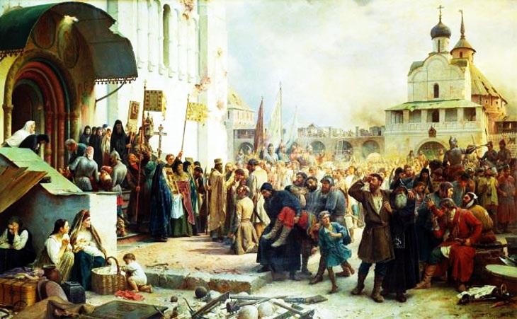 Осада троице-сергиева монастыря