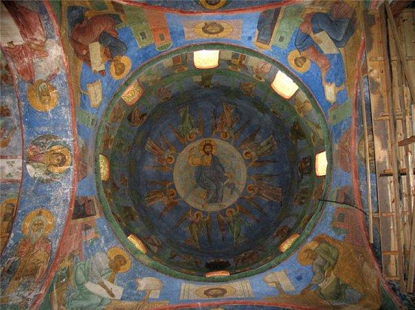 Византия.Фрески 12 век