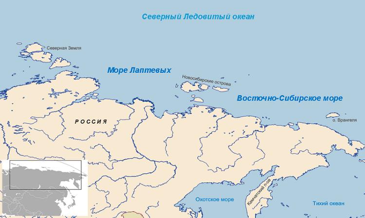 Море Лаптевых