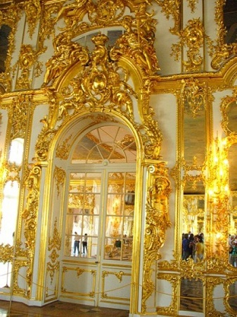 Анфилада комнат в Екатерининском дворце