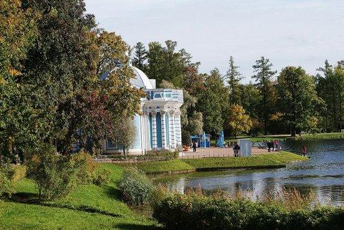 Павильон Грот в Екатерининском дворце