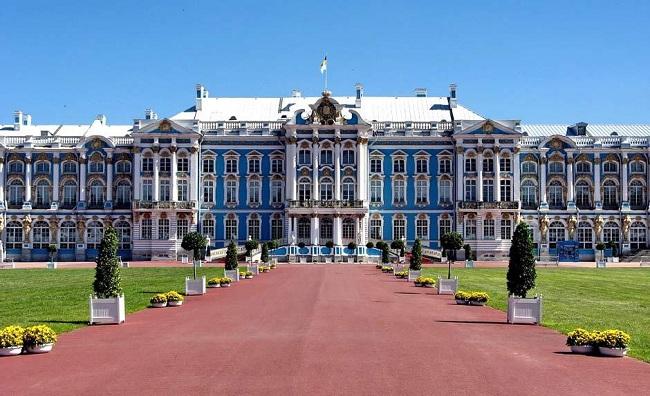панорама Екатерининского дворца