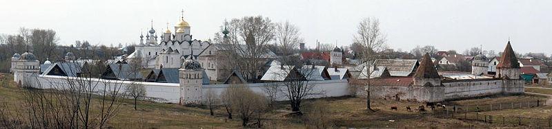 Панорама Покровского монастыря