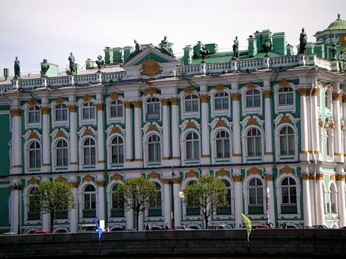 Северный фасад Зимнего дворца